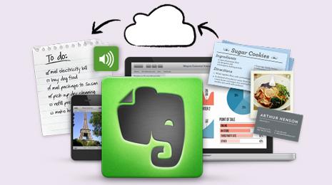Evernote, lifehacking, handig, app,