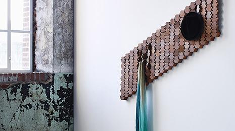Kapstok Design Hout 2016
