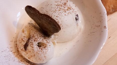 Kokosijs met Nutella met 4 ingrediënten