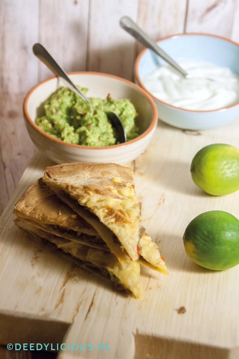 Baked Tortilla's met homemade Gucamole | www.deedylicious.nl