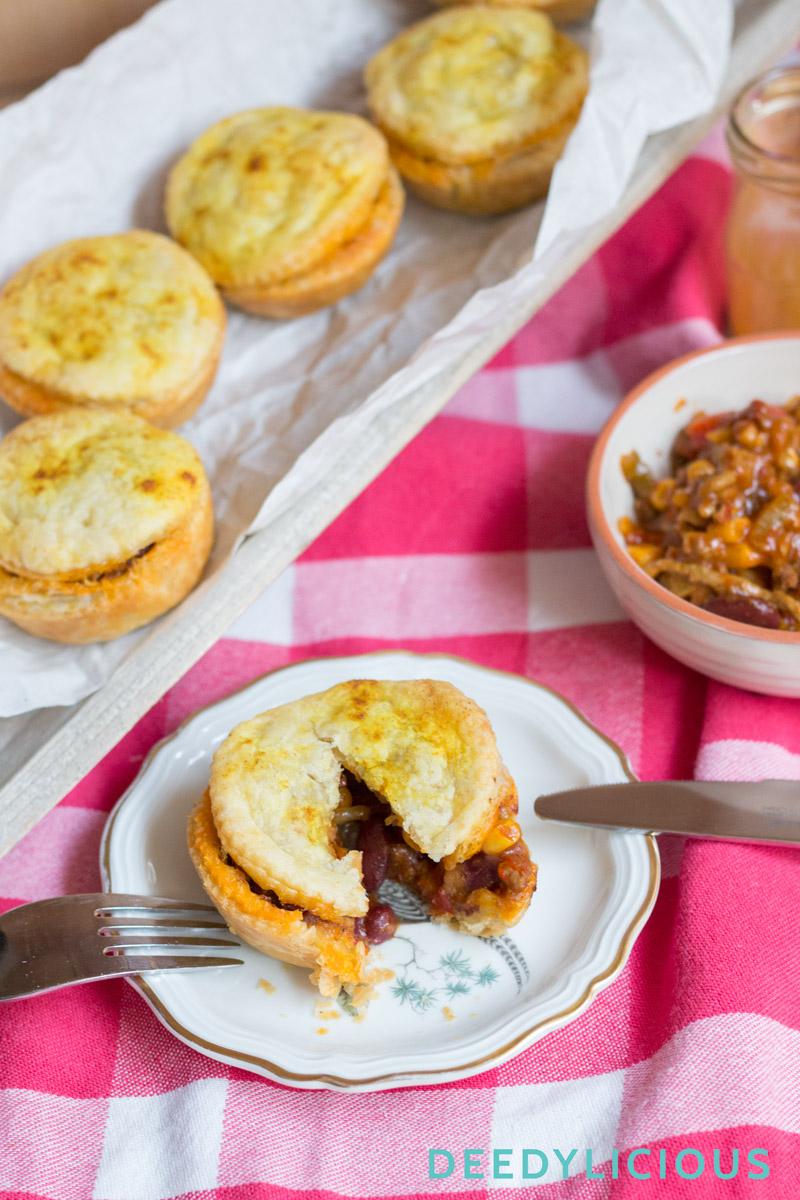 Mexicaanse pasteitjes   www.deedylicious.nl