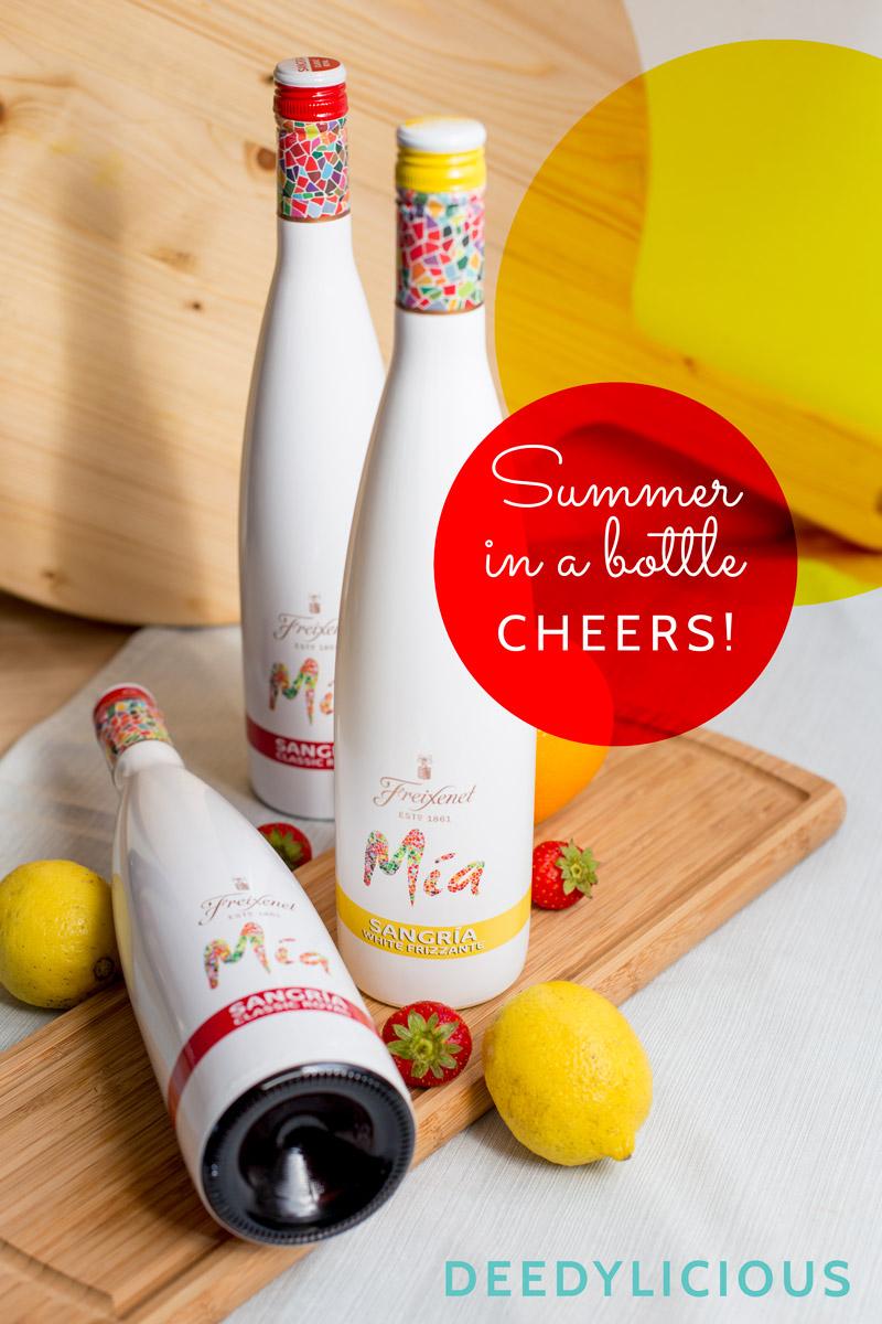 Mia Sangria van Freixenet; de zomer in een fles | www.deedylicious.nl