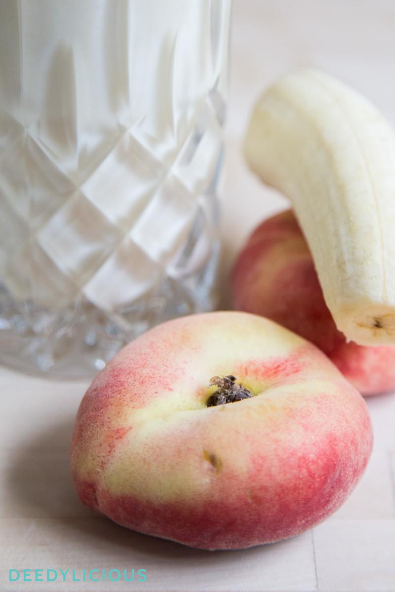 Wilde perzik smoothie | www.deedylicious.nl