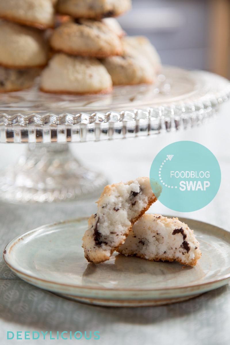 Kokosbollen in twee smaken; gember en chocolade | www.deedylicious.nl