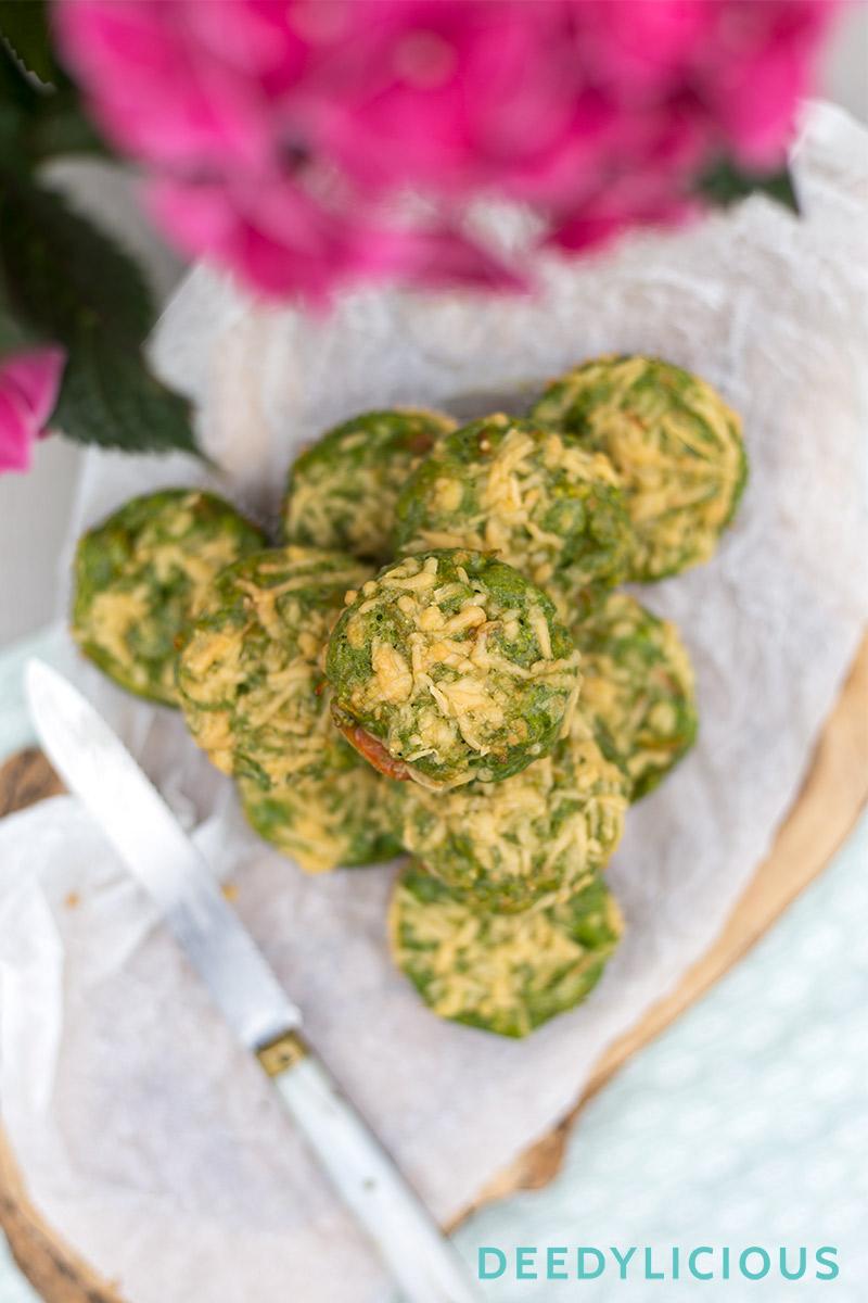 Spinaziemuffins | www.deedylicious.nl