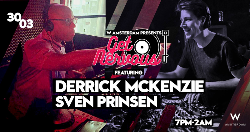 Derrick McKenzie 30 maart bij W Lounge Amsterdam | www.deedylicious.nl