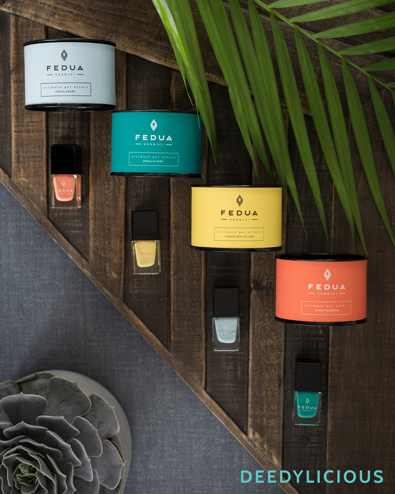 Fedua nailpolish in opdracht van BeautyX | www.deedylicious.nl