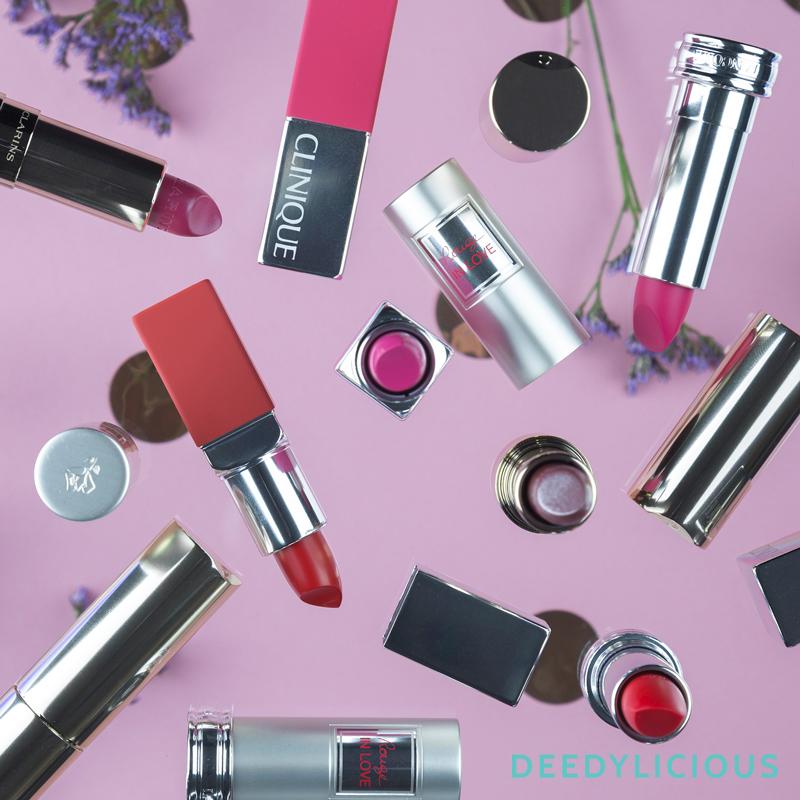 Fotografie Lipsticks voor BeautyX | www.deedylicious.nl