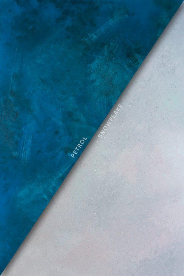 Fotografie backdrop Petrol / Snowflake | www.deedylicious.nl