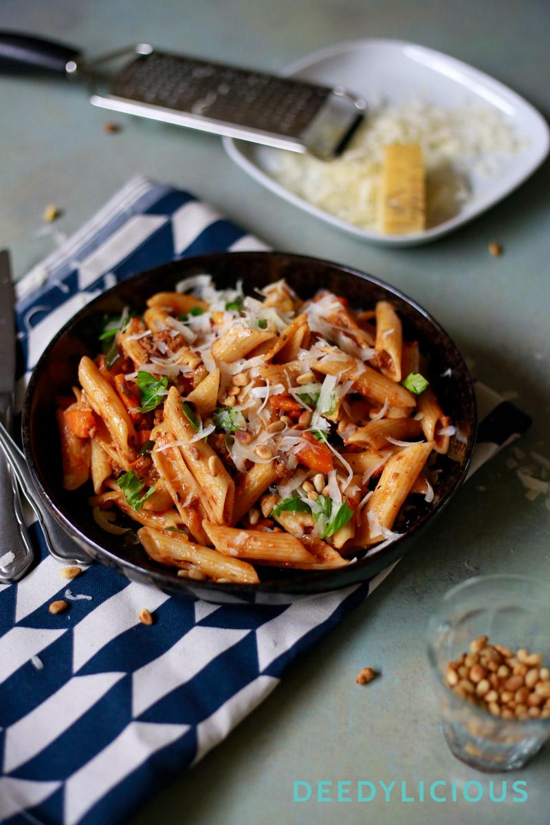 De 'altijd goed pasta' van DeedyLicious | www.deedylicious.nl