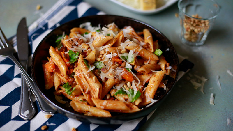De 'altijd goed pasta' van DeedyLicious