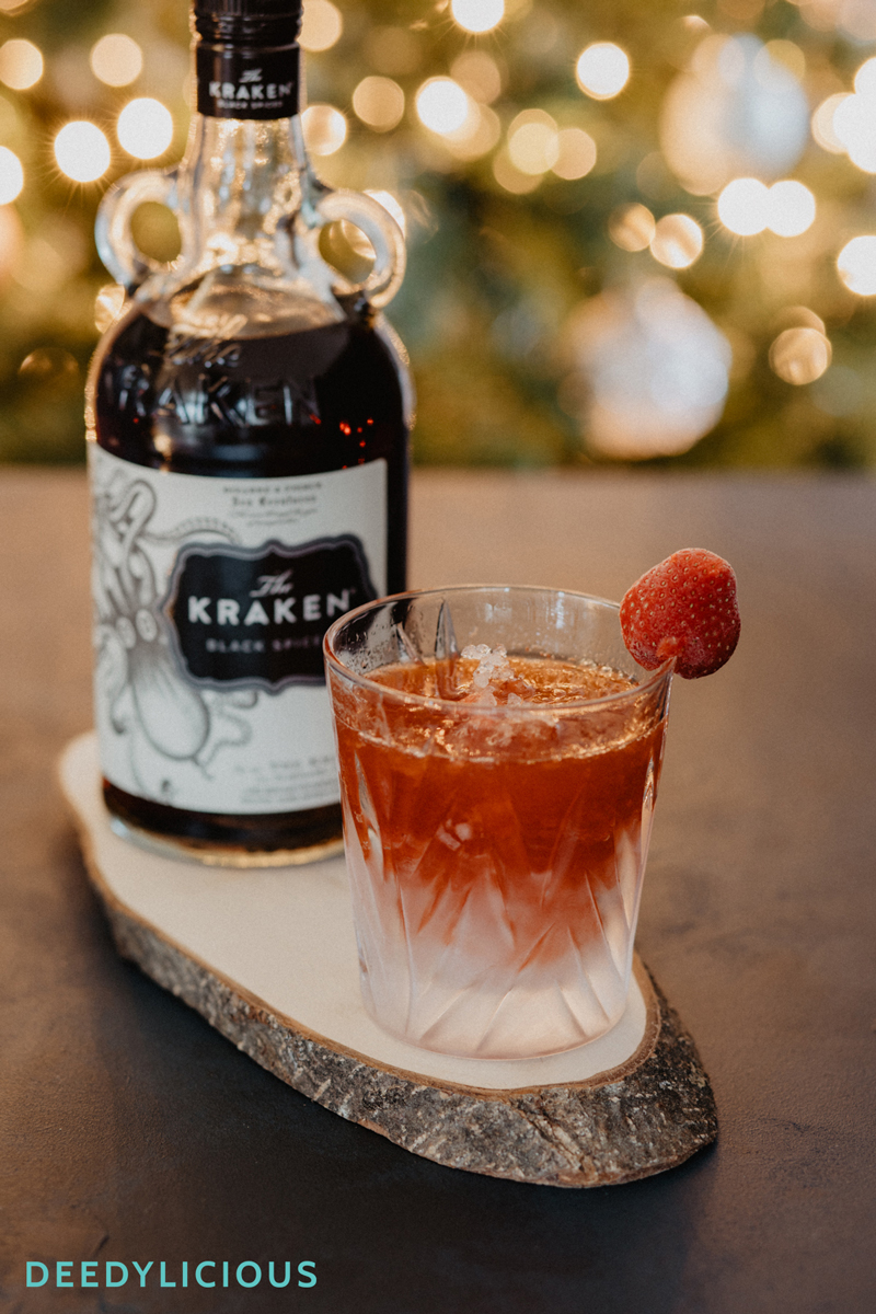 Strawberry Daiquiri met The Kraken spiced rum | www.deedylicious.nl
