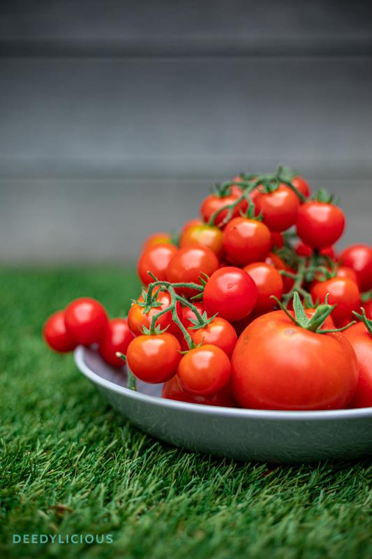 Tomaten uit eigen tuin op schaal | www.deedylicious.nl